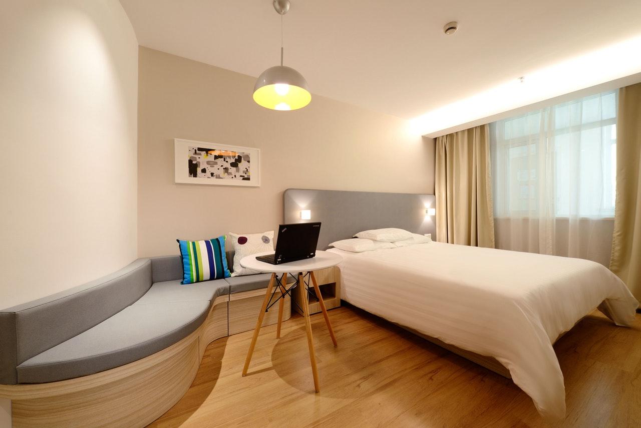 Sypialnia w wersji minimalistycznej